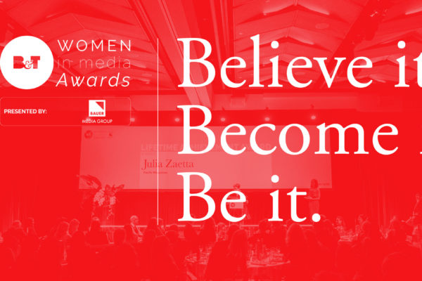 B&T Women In Media Awards Power List 2018