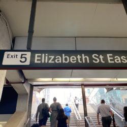 Elizabeth St Exit