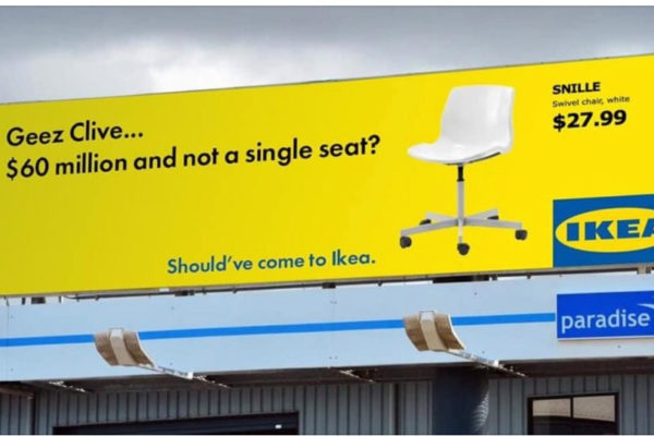 Clive Palmer IKEA spoof