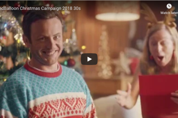 RedBalloon Christmas campaign by Ultimate Edge Communications